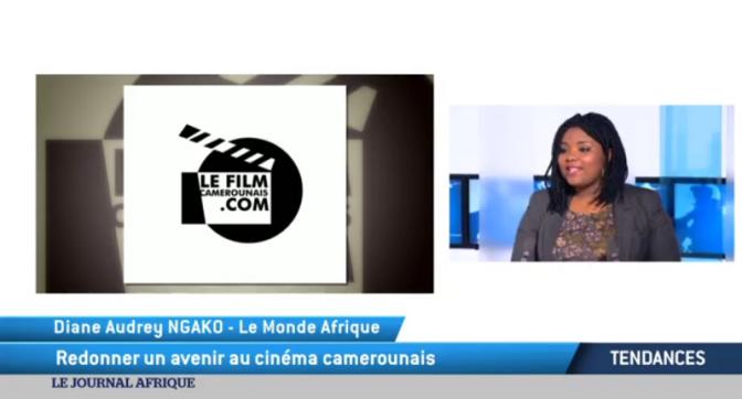 """VIDÉO : TV5 Monde présente """"Le Film Camerounais"""" – JTA Diane"""