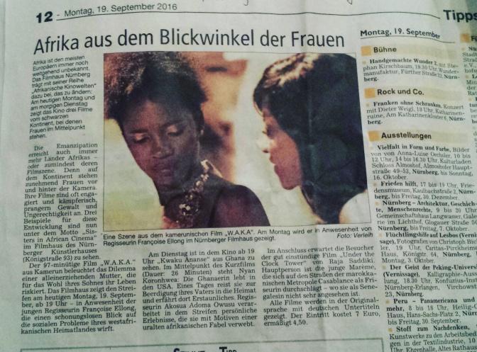 """FESTIVAL : """"W.A.K.A"""", l'incroyable tournée allemande du film"""