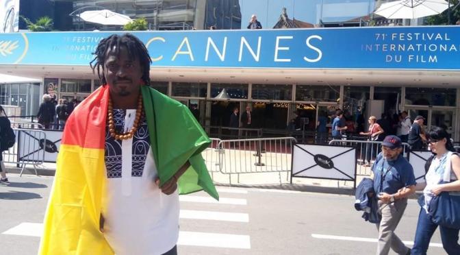 PEOPLE : Benjamin Eyaga, une première à Cannes