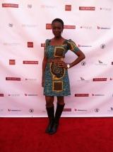 La coupe de cette robe de Constance Ejuma est simplement sublime