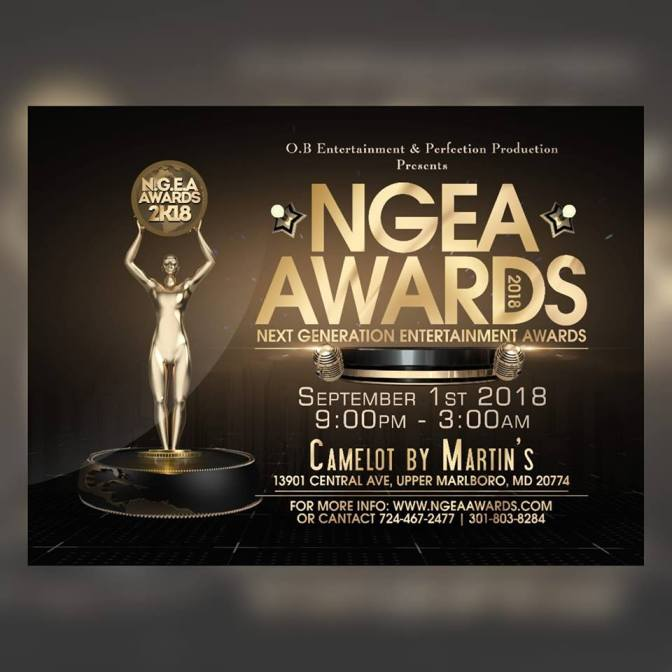 AWARDS : Les Trophées Camerounais du Next Generation Entertainment Awards 2018