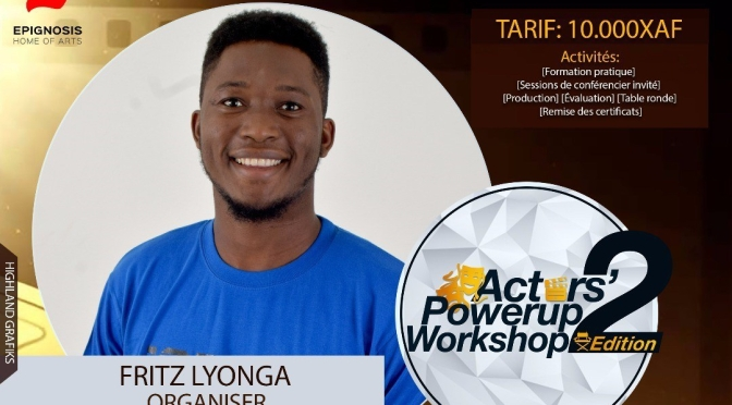 À L'AFFICHE : 2ème édition du Actors Powers Up Workshop du 5 au 10 novembre 2018
